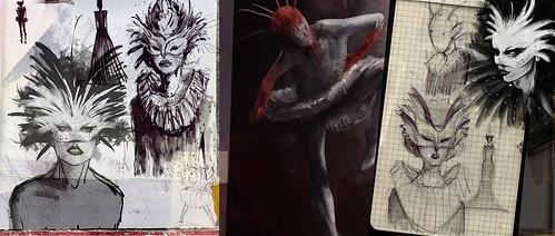 Burn & Rise - Doodles & Concepts