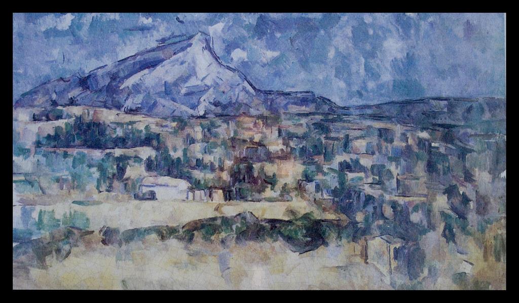 Exceptional ... Montagne Sainte Victoire From Les Lauves, Terrain Des Peintures, Aix En  Provence |