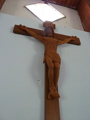 carving, art, religious item, symbol, wood, sculpture, crucifix, cross,