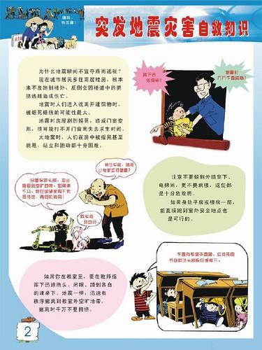 【图】地震灾害自救-室内紧急避震2