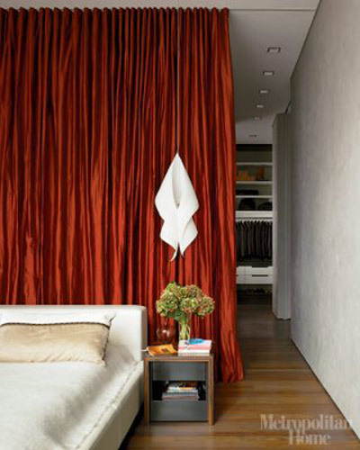 Curtain Room Divider Via At Flickr Photo Sharing