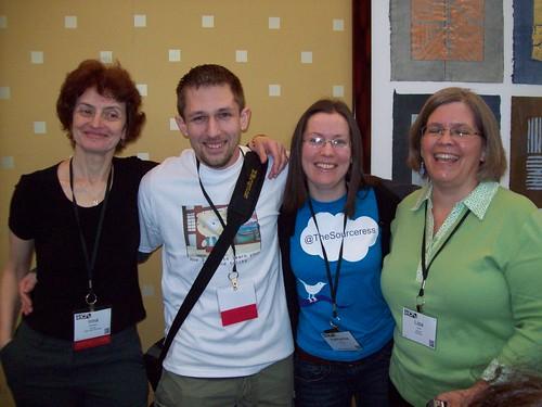 SourceCon Grand Master Challenge Competitors 2010 - Irina Shamaeva, Mike Notaro, Katharine Robinson & Lisa Offutt