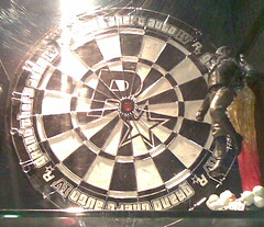 indoor games and sports(0.0), recreation(0.0), dartboard(1.0), games(1.0), darts(1.0),
