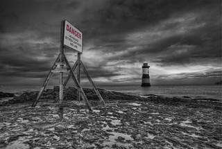 'Coastal Warnings' - Black Point, Penmon, Anglesey