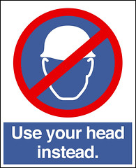 Use your head instead!