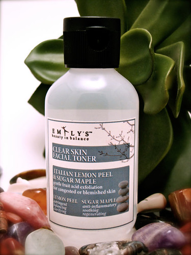 Italian Lemon Peel and Sugar Maple Clear Skin Facial Toner