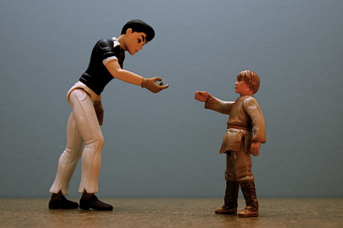 Speed Racer vs. Anakin Skywalker (87/365)