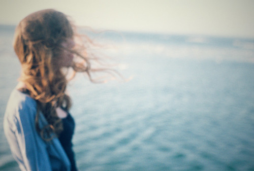 LE LOVE BLOG LOVE PICTURE GIRL THINKING ALONE BY WATER WHAT WOULD BE ENOUGH I WANT Untitled by weepy hollow, on Flickr