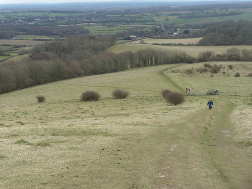 View from Woolstonbury Hill