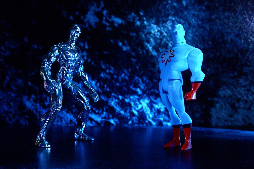 Silver Surfer vs. Captain Atom (96/365)