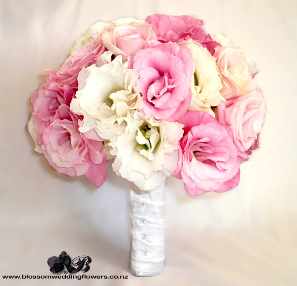 Bridal Bouquets Pink And White : Wedding bouquet pink white flickr photo sharing