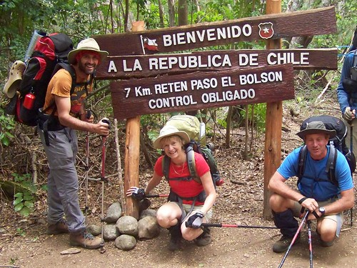 Patagons arrive in Chile