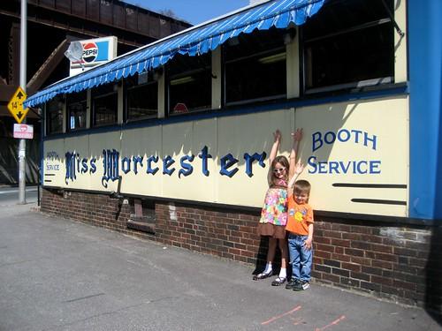 Retro Roadkids at the Miss Worcester Diner