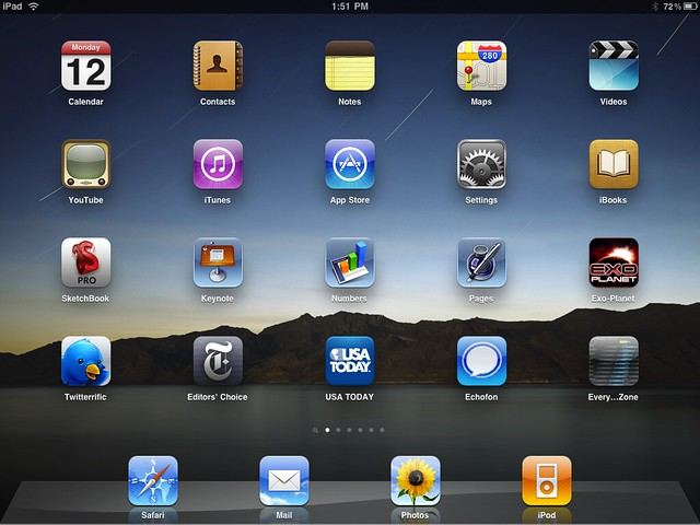 ipad_home_screen from Flickr via Wylio
