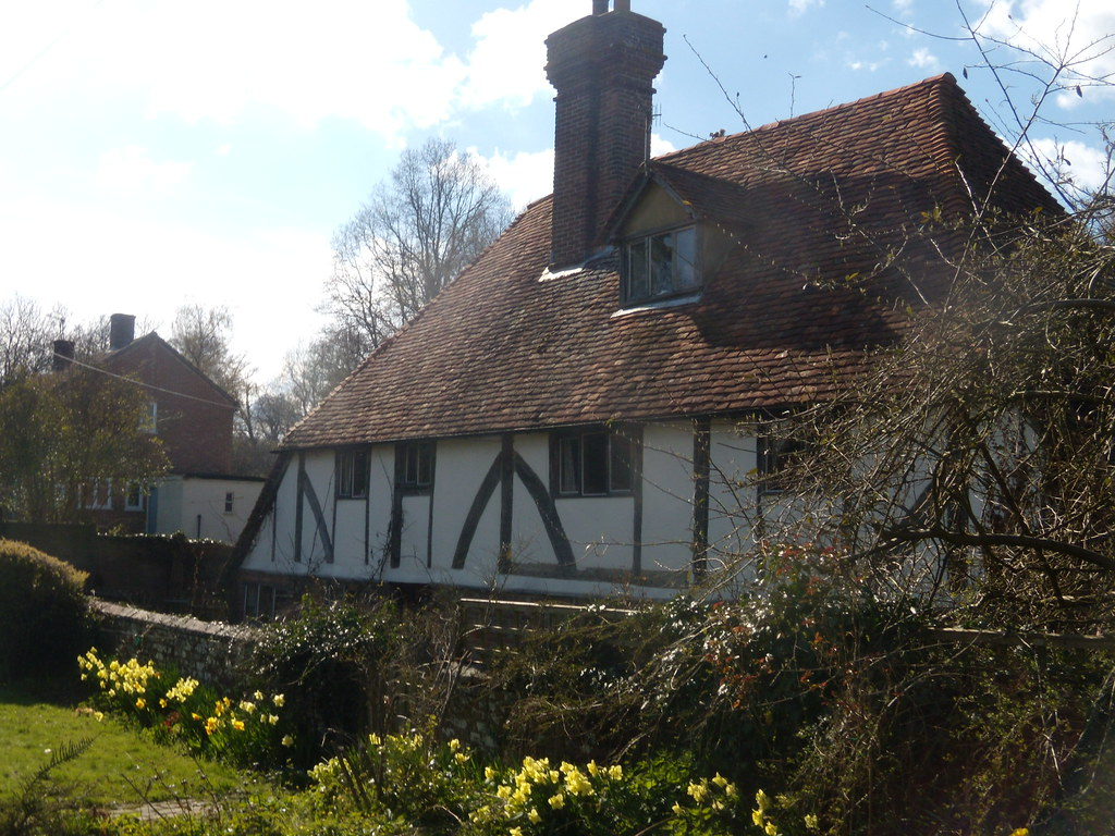 Half timbered house Cowden to Hever