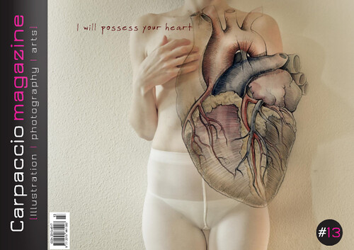 "Carpaccio Magazine Issue #13: ""I will possess your heart"" is out!"