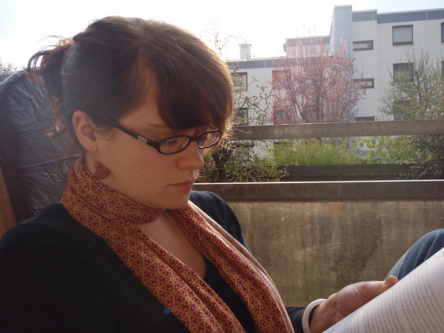 Day 10:  Reading While Waiting For The German