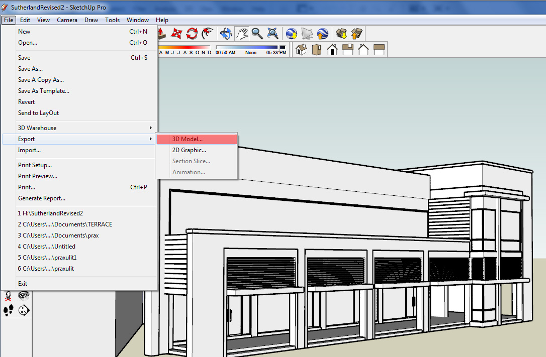 Importing sketchup files to rhinophyma for Sketchup import
