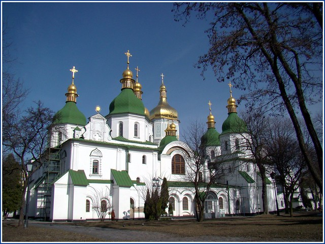 Saint Sophia's Cathedral by CC user 26010780@N06 on Flickr
