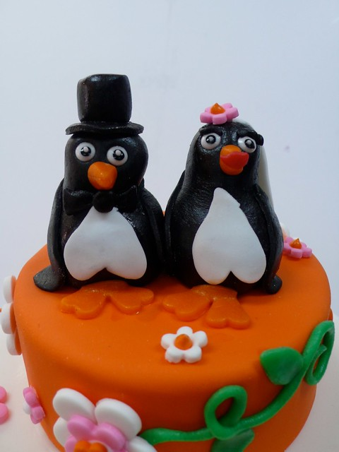 Marzipan Wedding Cake Toppers