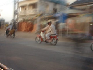 Driving in PhnomPenh