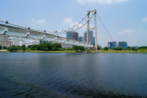 Unfinished bridge in Putrajaya, Malaysia