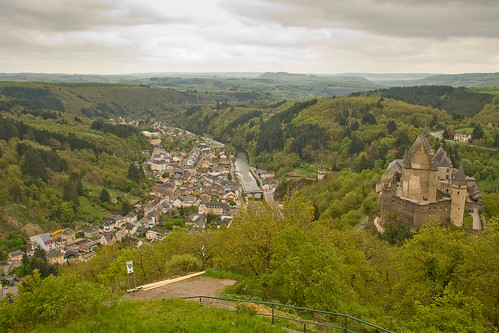 Vianden and castle