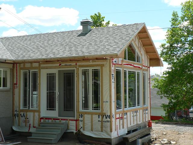 005 agrandissement d 39 une maison sans finition ext rieure - Agrandissement d une maison ...