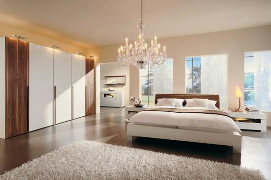 Gustowna sypialnia w minimalistycznym stylu