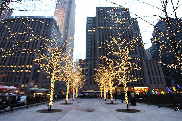 Christmas lighting, New York, USA | Flickr - Photo Sharing!