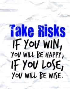 quotes tag risk taking