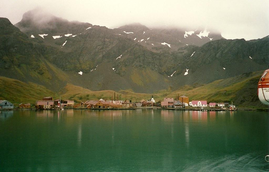 Grytviken South Georgia Whaling Station