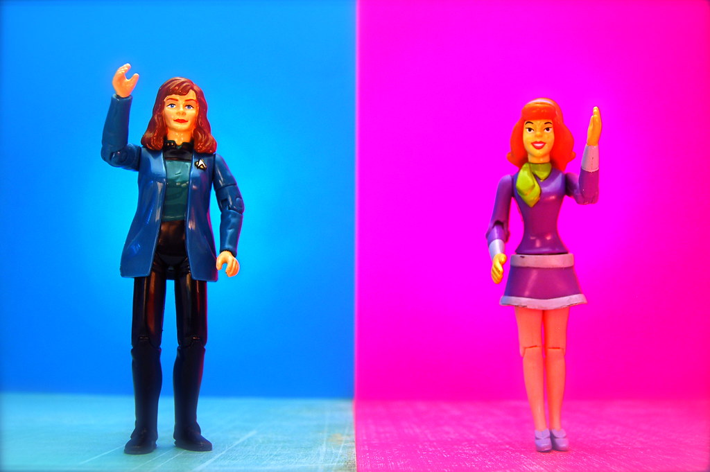 Dr. Beverly Crusher vs. Daphne Blake (146/365)