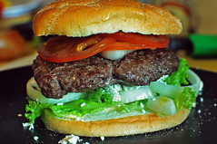 sandwich, hamburger, slider, meat, veggie burger, food, whopper, dish, big mac, fast food,