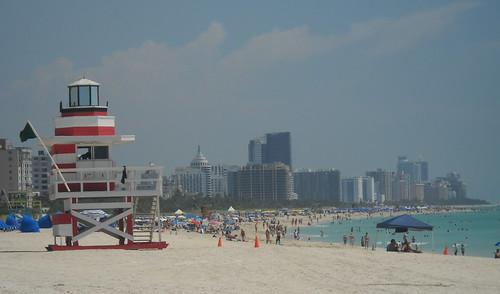 Miami South Beach Lifeguardstand