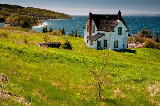 Old house with a view cape bretron flickr photo sharing for Houses nova scotia