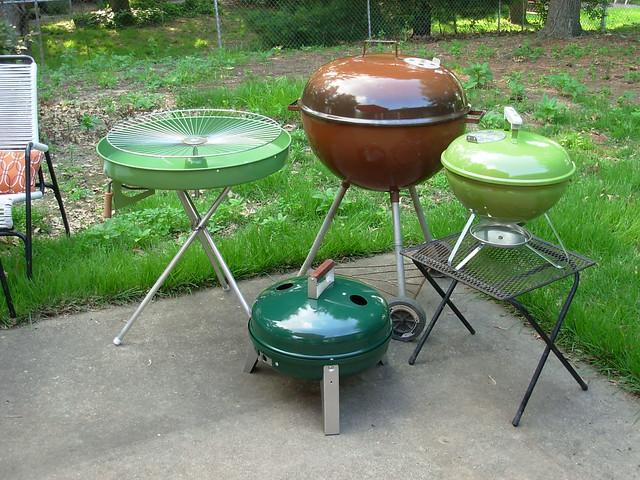 Weber Grill Green Paint