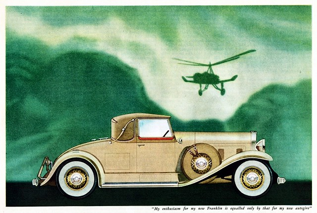 1931 Franklin Convertible Coupe