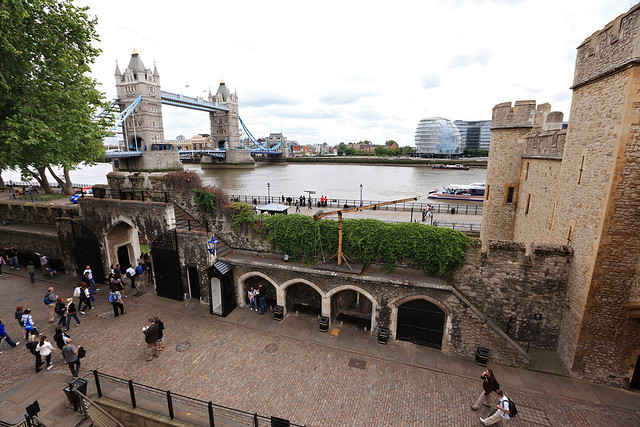 That's why it's called the Tower Bridge
