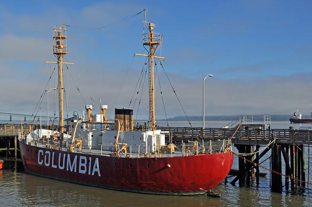 Lightship Columbia, OR