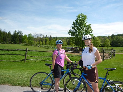 Biking near Ligonier, PA