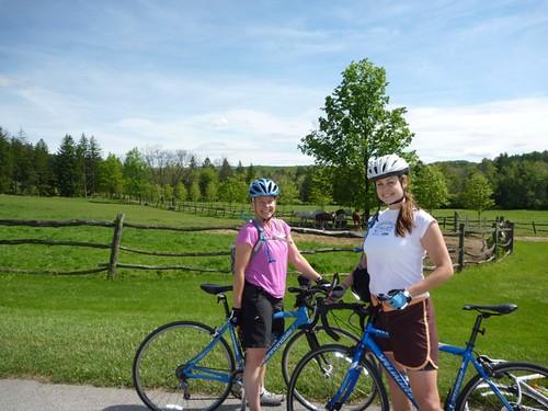 Biking near Ligonier, PA
