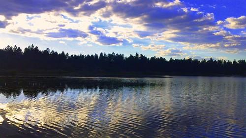 sunset arizona dusk arizonasunset foolshollowlake