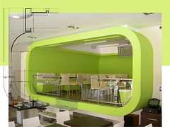 Bar-Restaurant: Cozinha Com Cor   ( Kitchen with Color )