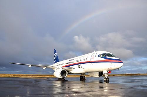 SSJ100 Keflavik Airport