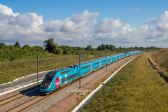 02 juillet 2017 TGV D 769-772 Train 7651 Massy -> Bordeaux Aubie-et-Espessas (33) - Photo of Marcenais