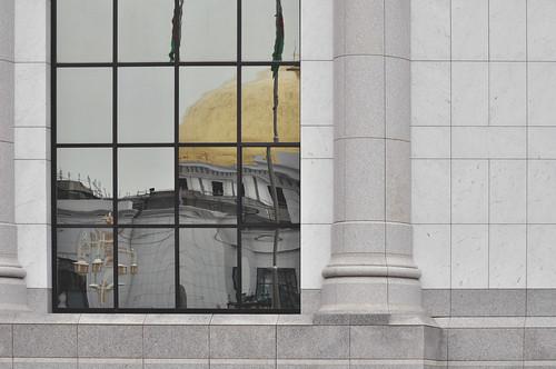 ashgabat turkmenistan dome marble mirror tm