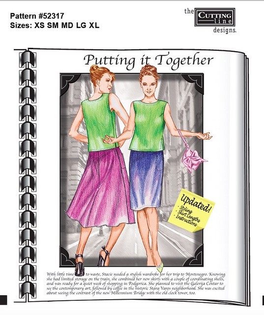 Putting it Together pattern envelope illustration