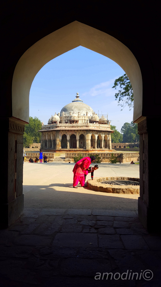 Isa Khan's tomb, Humayun's tomb complex, New Delhi