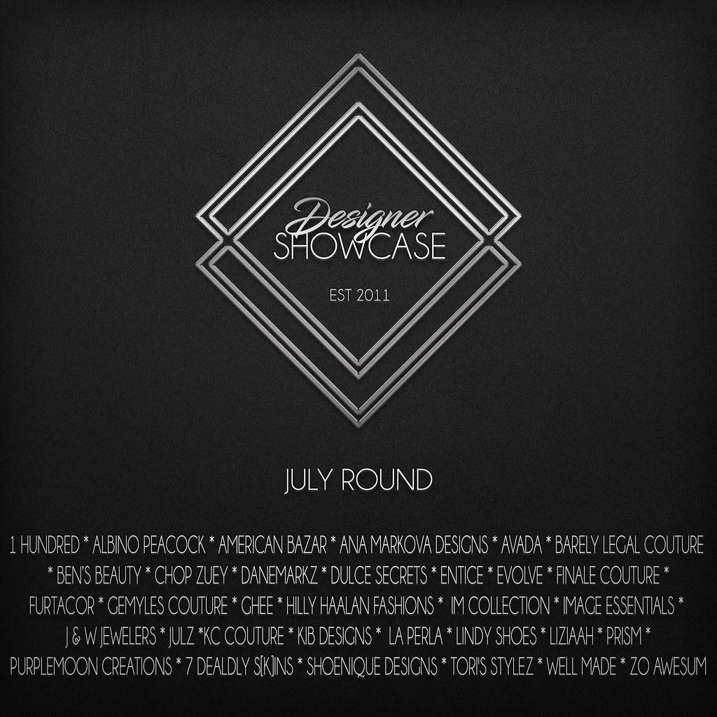 Designer Showcase-July-2017 - SecondLifeHub.com